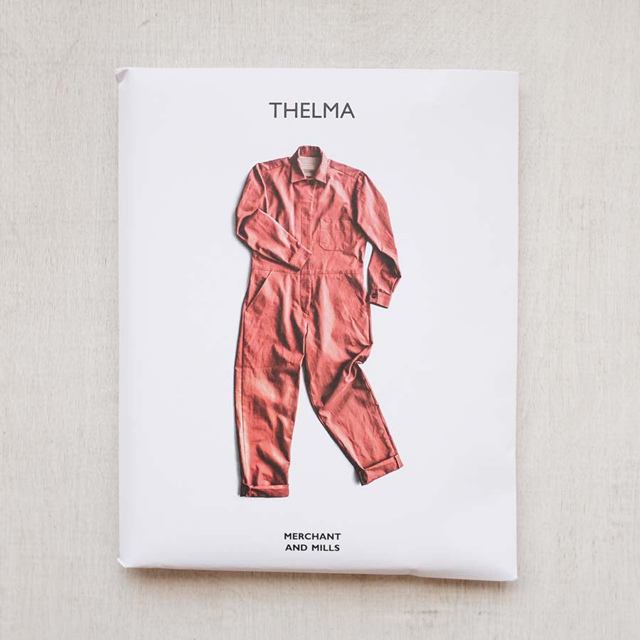 Thelma Jumpsuit Pattern from Merchant and Mills - PRINTED - NEW!