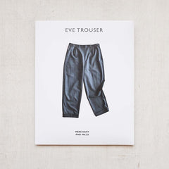 Eve Trouser Pattern from Merchant and Mills - PRINTED - NEW!