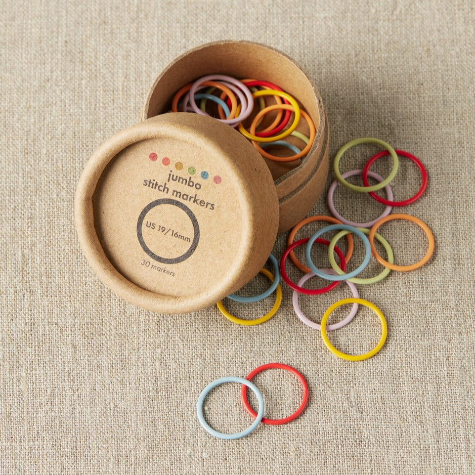 Cocoknits - Stitch Markers - Jumbo Colored Ring - Just restocked!