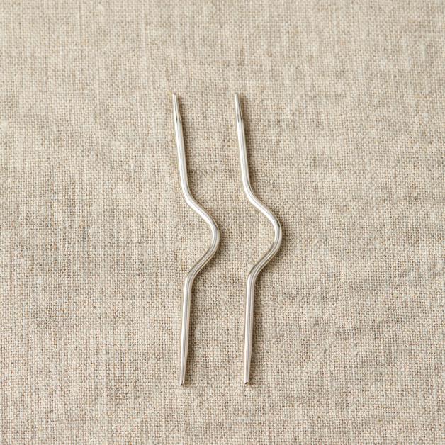 Cocoknits - Cable Needle - Curved Metal