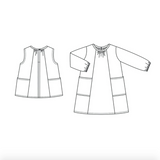 Wiksten - Baby + Child Smock Top and Dress Pattern  - PRINTED