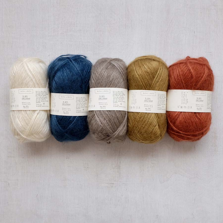 Biches & Buches - Le Gros Silk & Mohair - Just restocked!