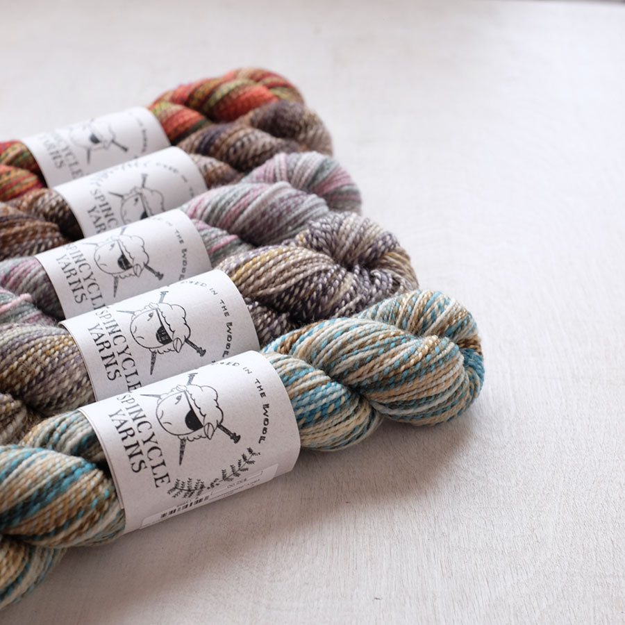 Spincycle Yarns - Dyed in the Wool - New Colors!