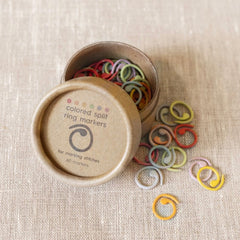Cocoknits Colored Split Ring Markers - NEW!