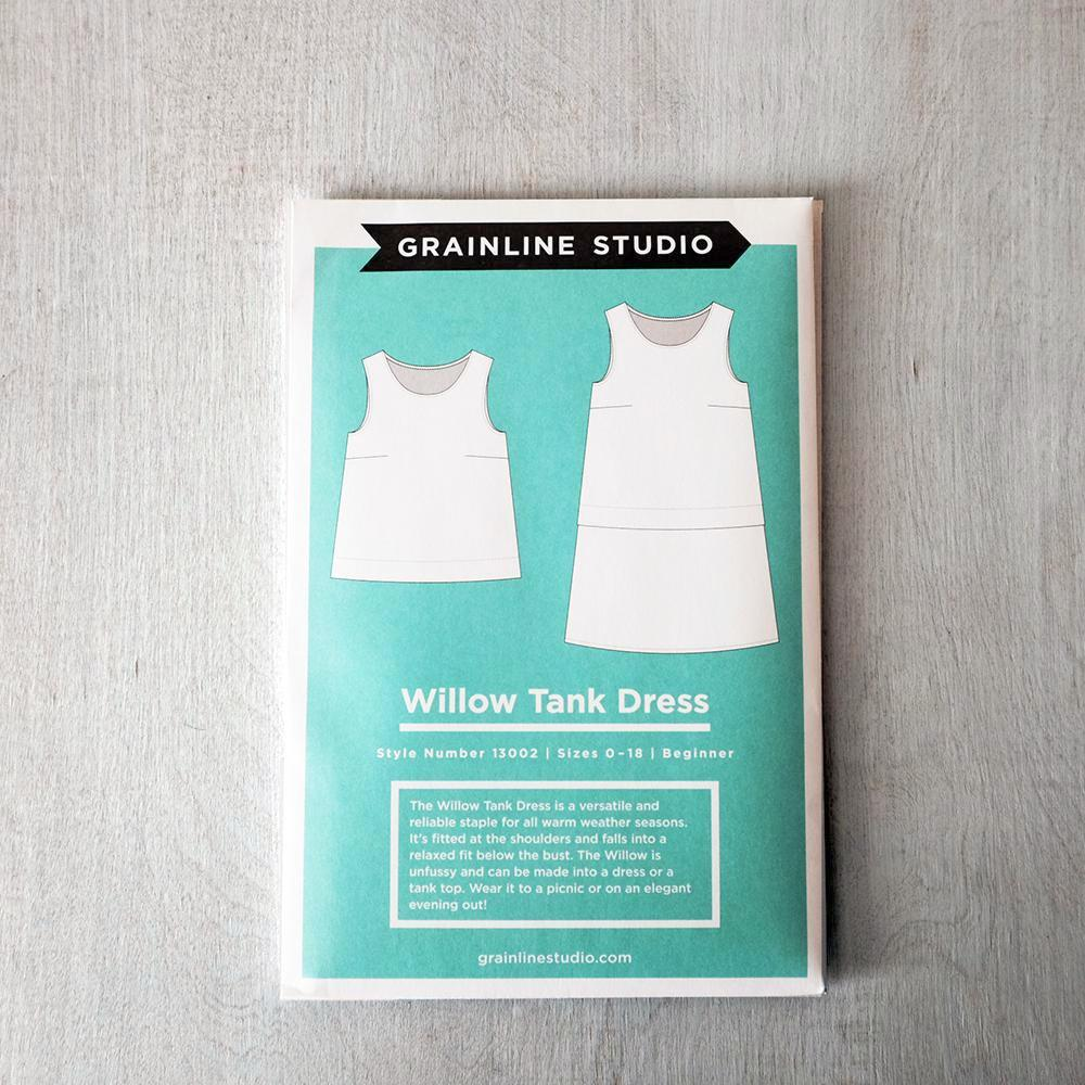 Grainline Studio - Willow Tank Dress Pattern - PRINTED