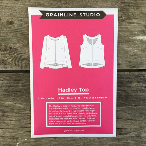 Hadley Top Pattern from Grainline Studio - PRINTED