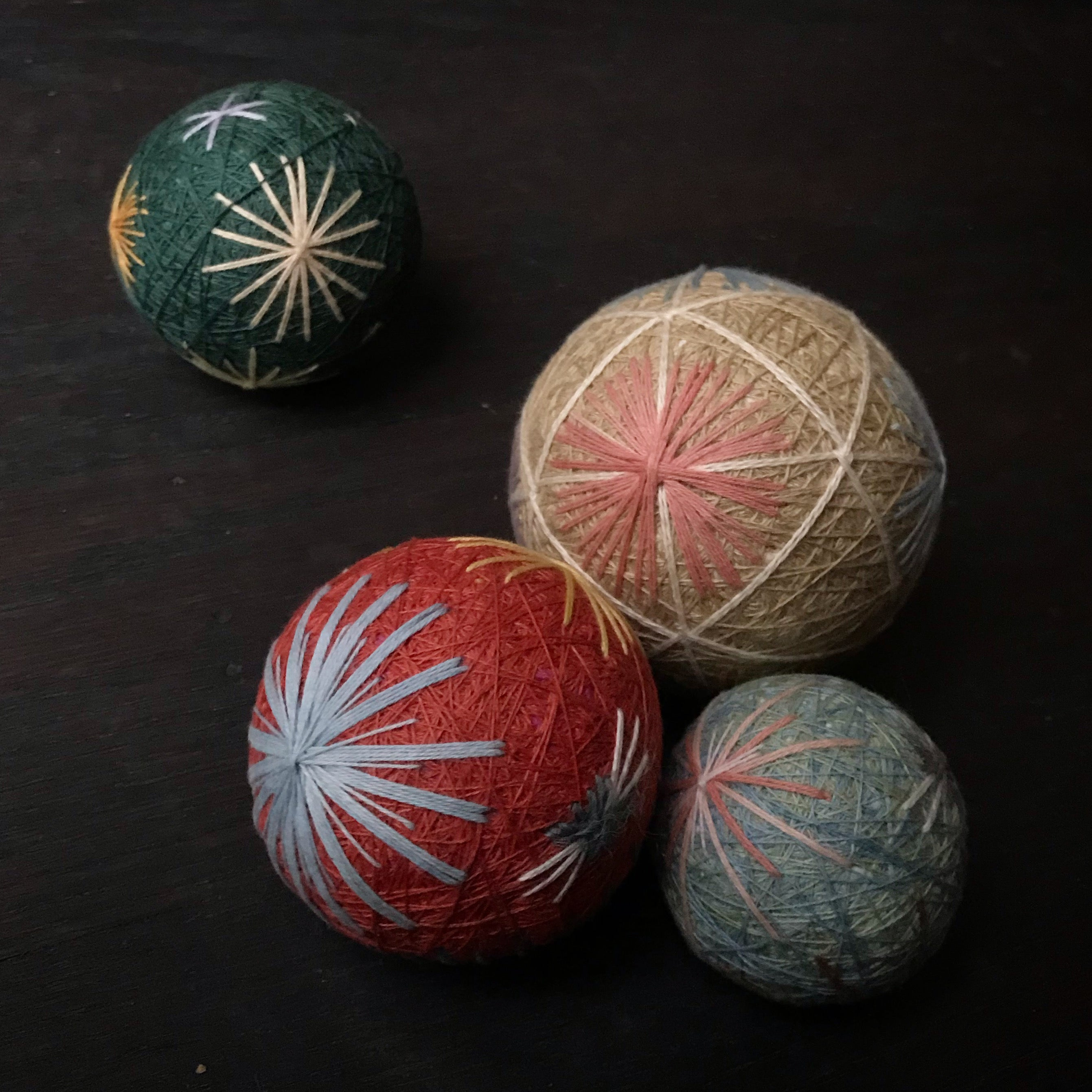 Temari 101 with Yoriko Yamamoto - Sunday, March 29th