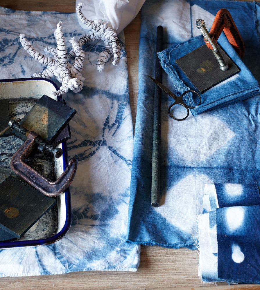 Indigo + Shibori II: Clamp Resist + Pole Resist - Coming soon!