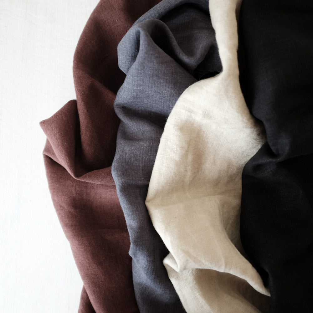 Merchant and Mills Laundered Linen - NEW COLORS!