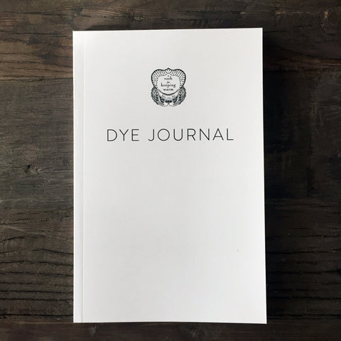The Modern Natural Dyer - Dye Journal
