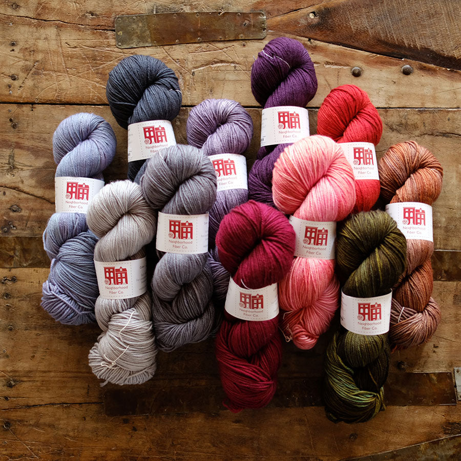Neighborhood Fiber Co - Studio Worsted - SOLD OUT