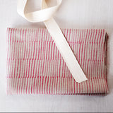 Label: Fabric Only Kit - Pink Lines
