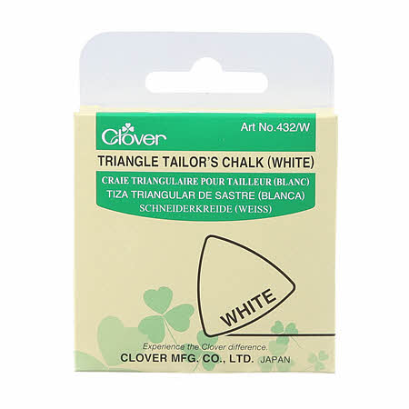 White Triangle Tailor's Chalk by Clover