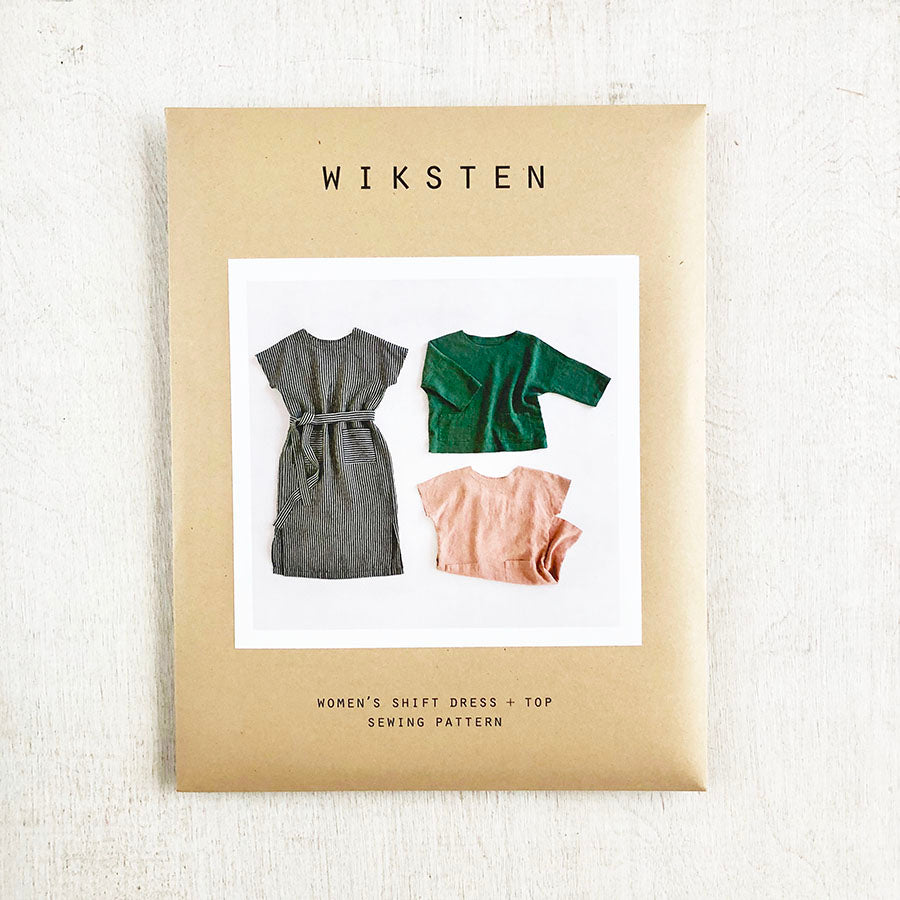 Women's Shift Dress + Top Sewing Pattern from Wiksten - NEW!