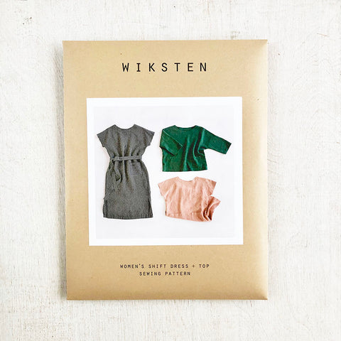Women's Shift Dress + Top Sewing Pattern from Wiksten - PRINTED