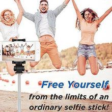 Load image into Gallery viewer, 【MORE CHEAP OTHER STOR】4 in 1 Wireless Bluetooth Selfie Stick