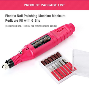 Nail Art Electric Nails Repair Drill Machine - 65% OFF Only Today !!!