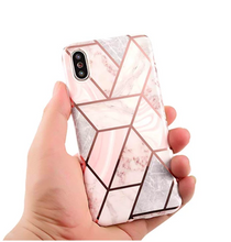 Load image into Gallery viewer, Geometric Silicon iPhone Case - Kikiboom Online Store