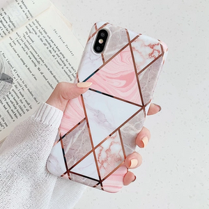 (More Cheaper Than Other Store !!! )Geometric Silicon iPhone Case