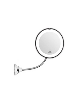 10x Magnifying LED Lighted Makeup Mirror - Kikiboom Online Store
