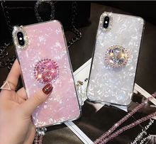 Load image into Gallery viewer, Luxury Diamond Drill Ring Iphone Case - Kikiboom online store