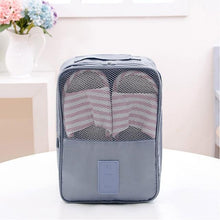Load image into Gallery viewer, Travel Shoe Bags, Foldable Waterproof Shoe Pouches Organizer-Holds 3 Pair of Shoes