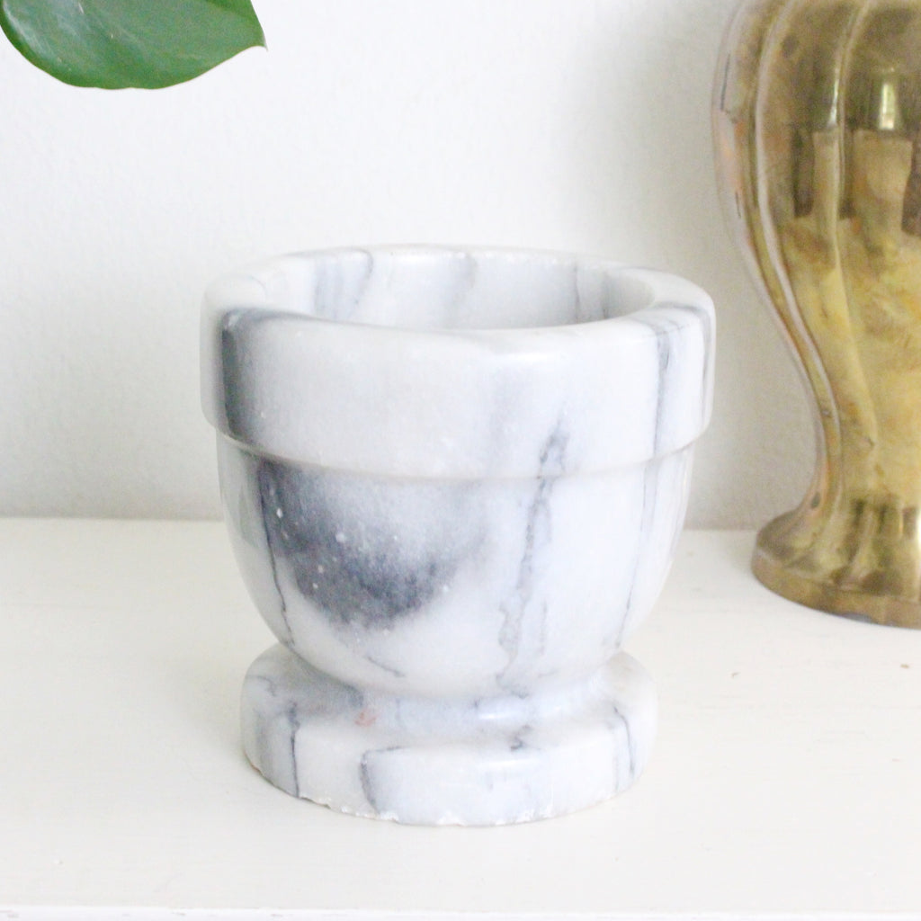 Marble Mortar Bowl