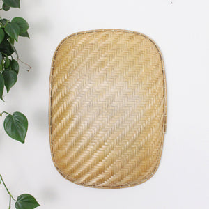 Rectangle Woven Wall Basket