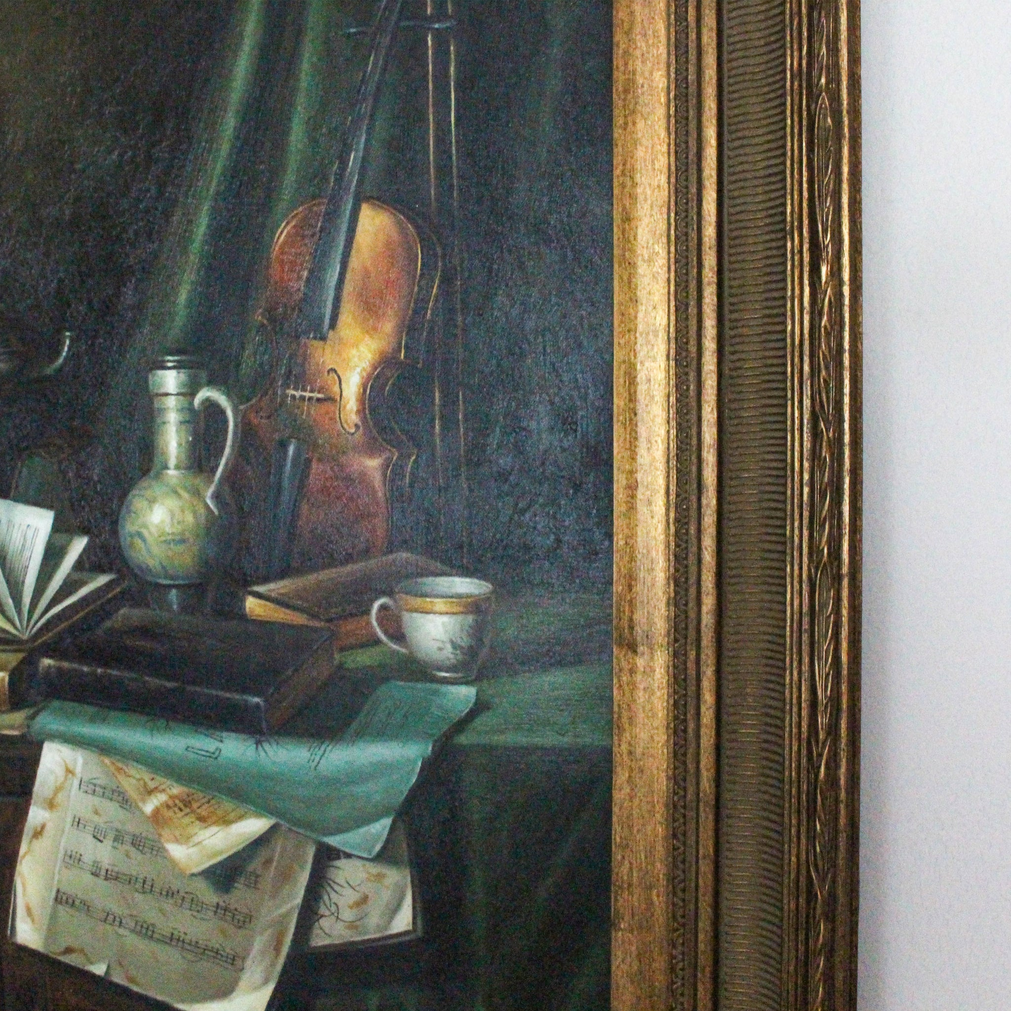 Original still life oil painting on canvas
