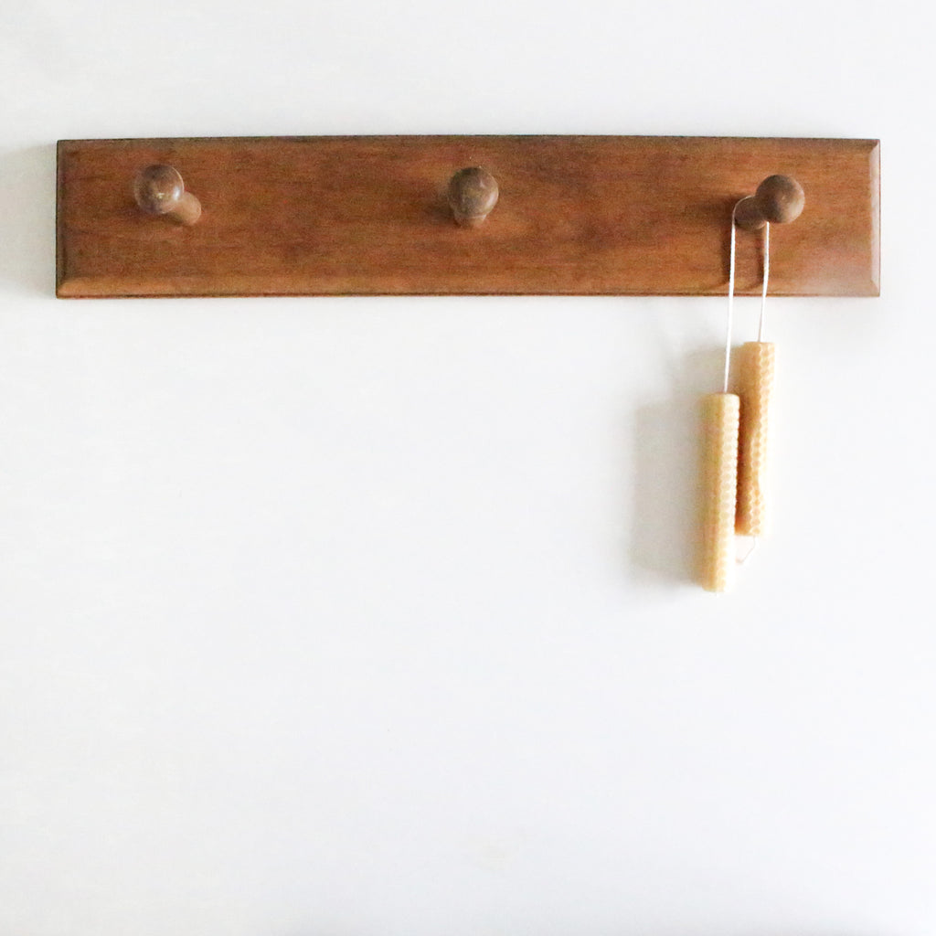 Shaker Peg Wooden Wall Rack