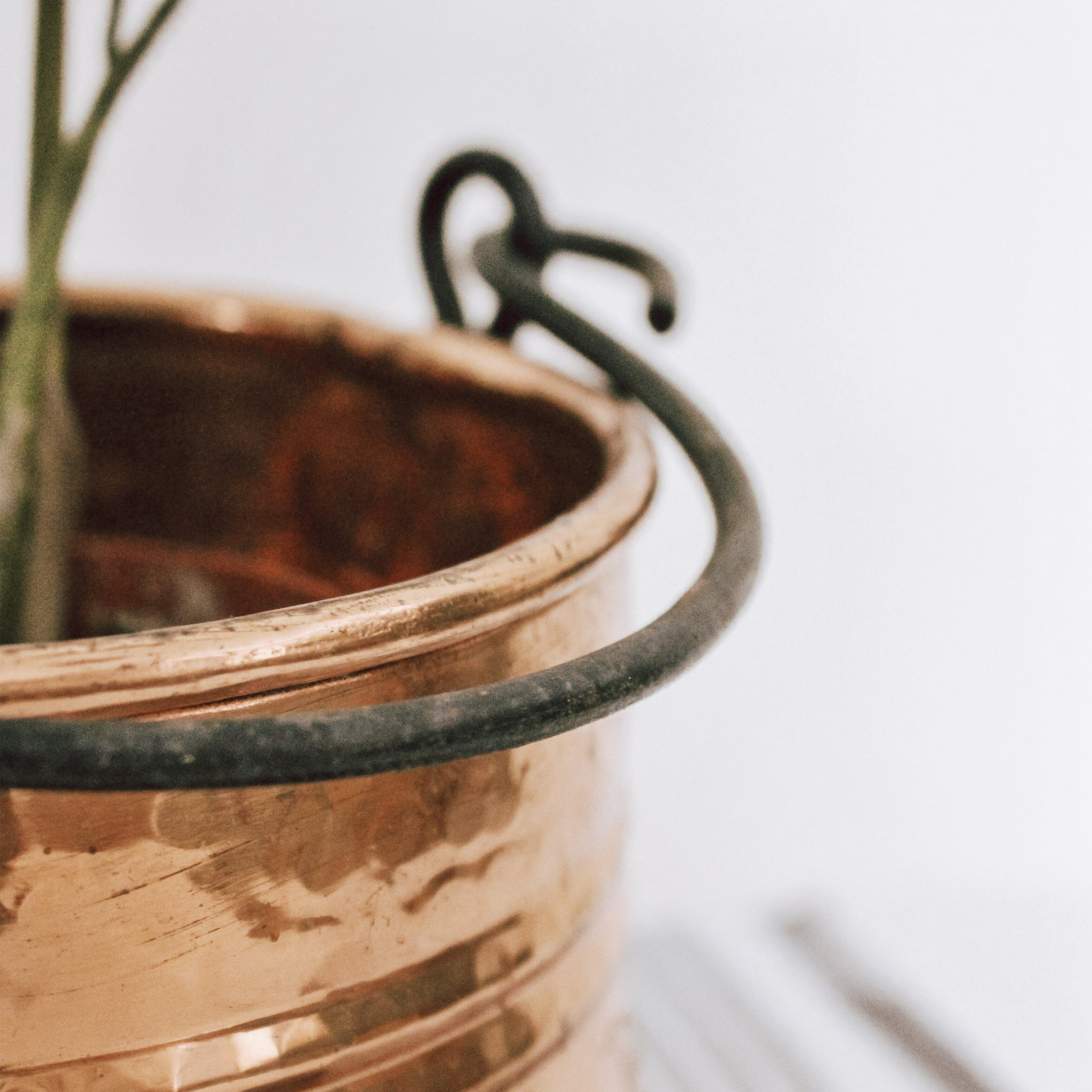 Vintage Copper Planter
