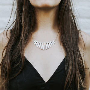 Howlite Collar Necklace