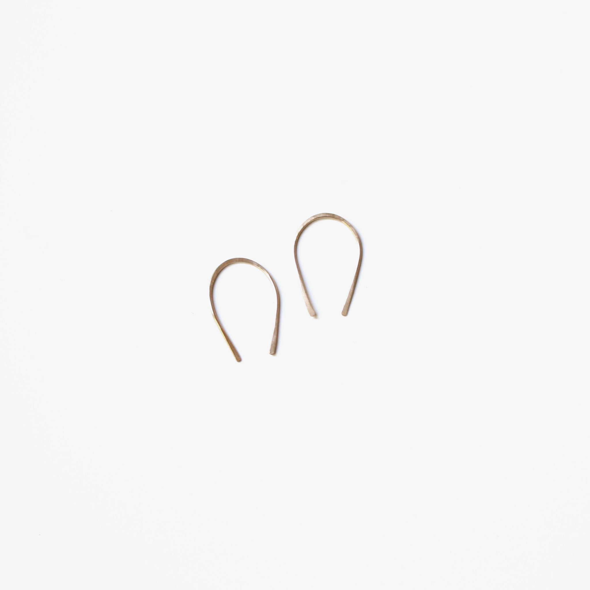 Nomad Hoop Earrings- Gold Filled