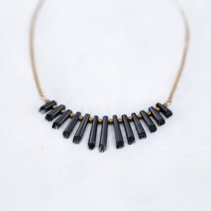 Onyx Collar Necklace