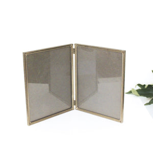 Double Vintage Picture Frame