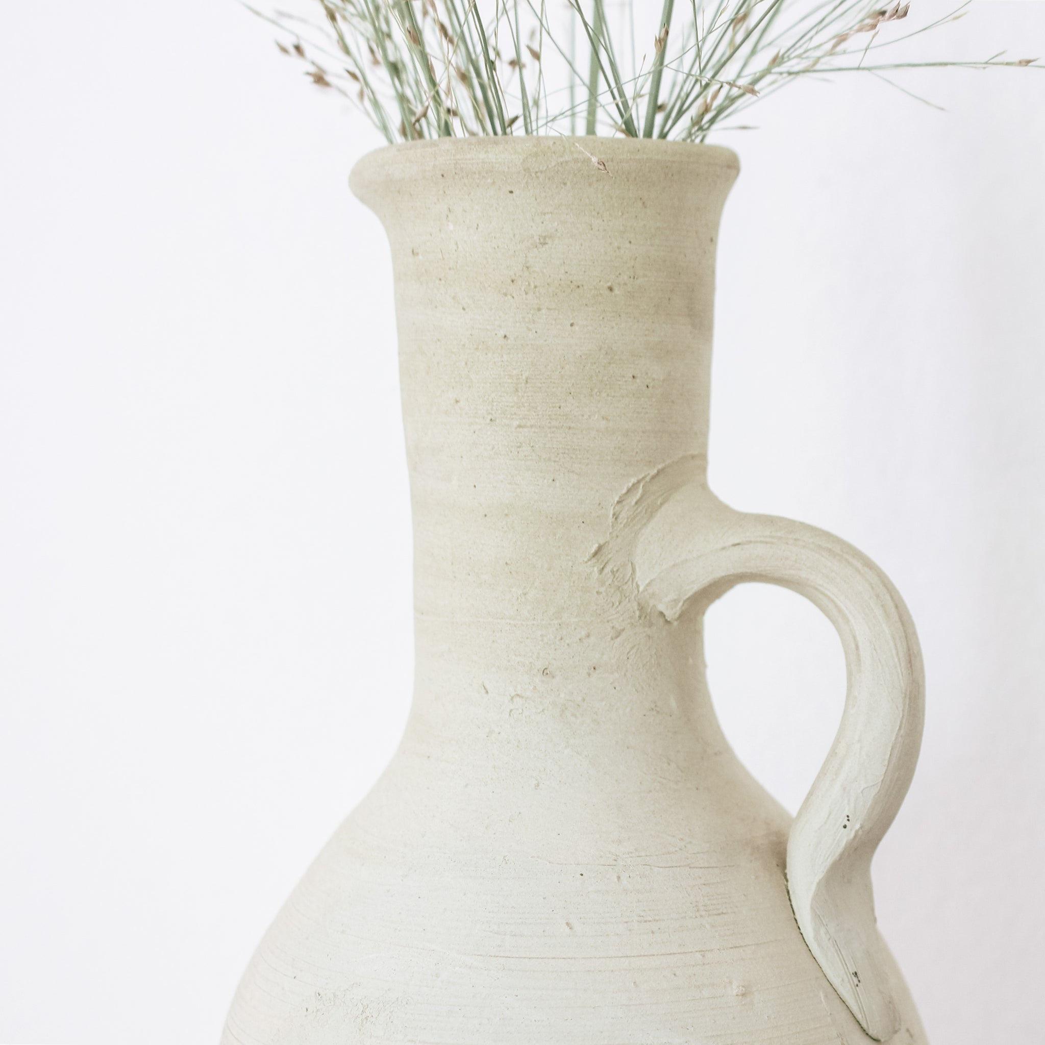 Primitive Style Decorative Pitcher