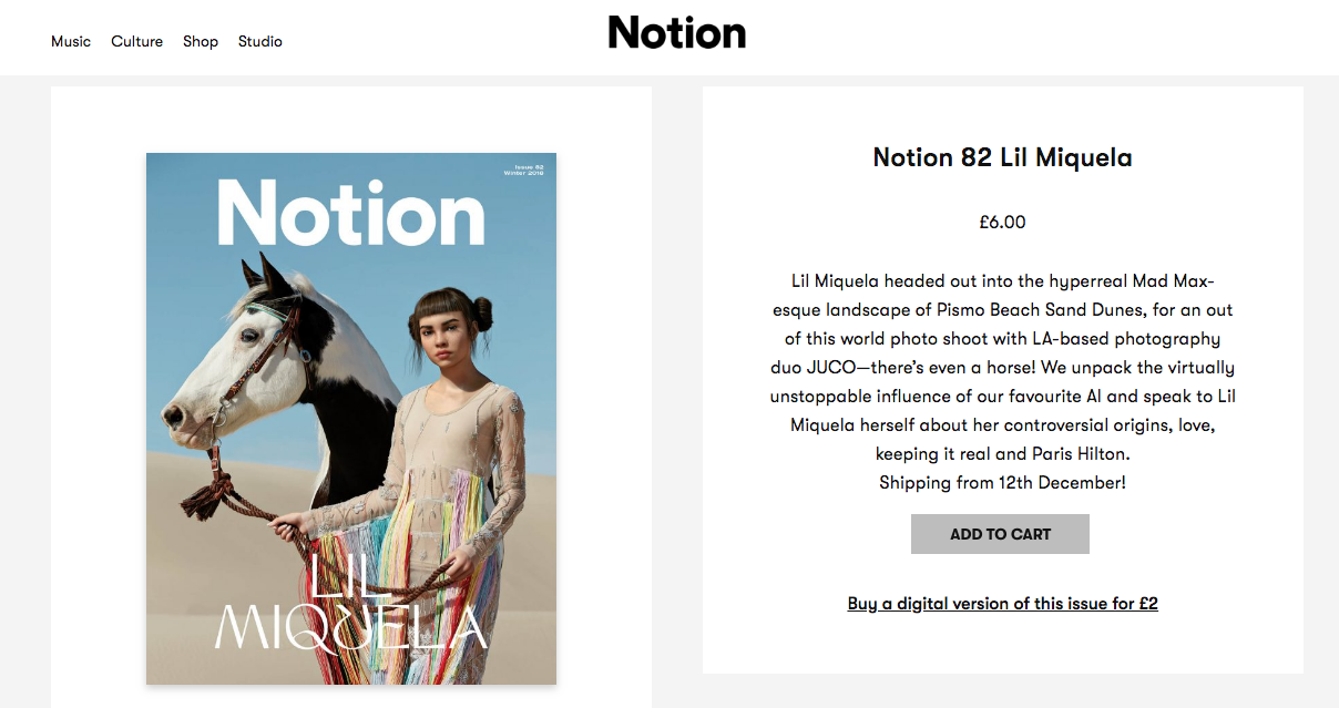 Notion magazine featuring singer VOX from LA in BONDY s tulle dresses