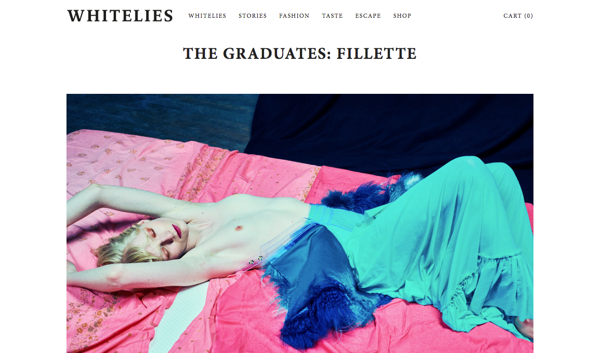 whitelies magazine featuring BONDY s Photoshooting with Elizaveta Porodina, Runa Hansen and Stella von Senger