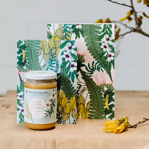 New Zealand Raw Honey and Stationery by Miel des Collines