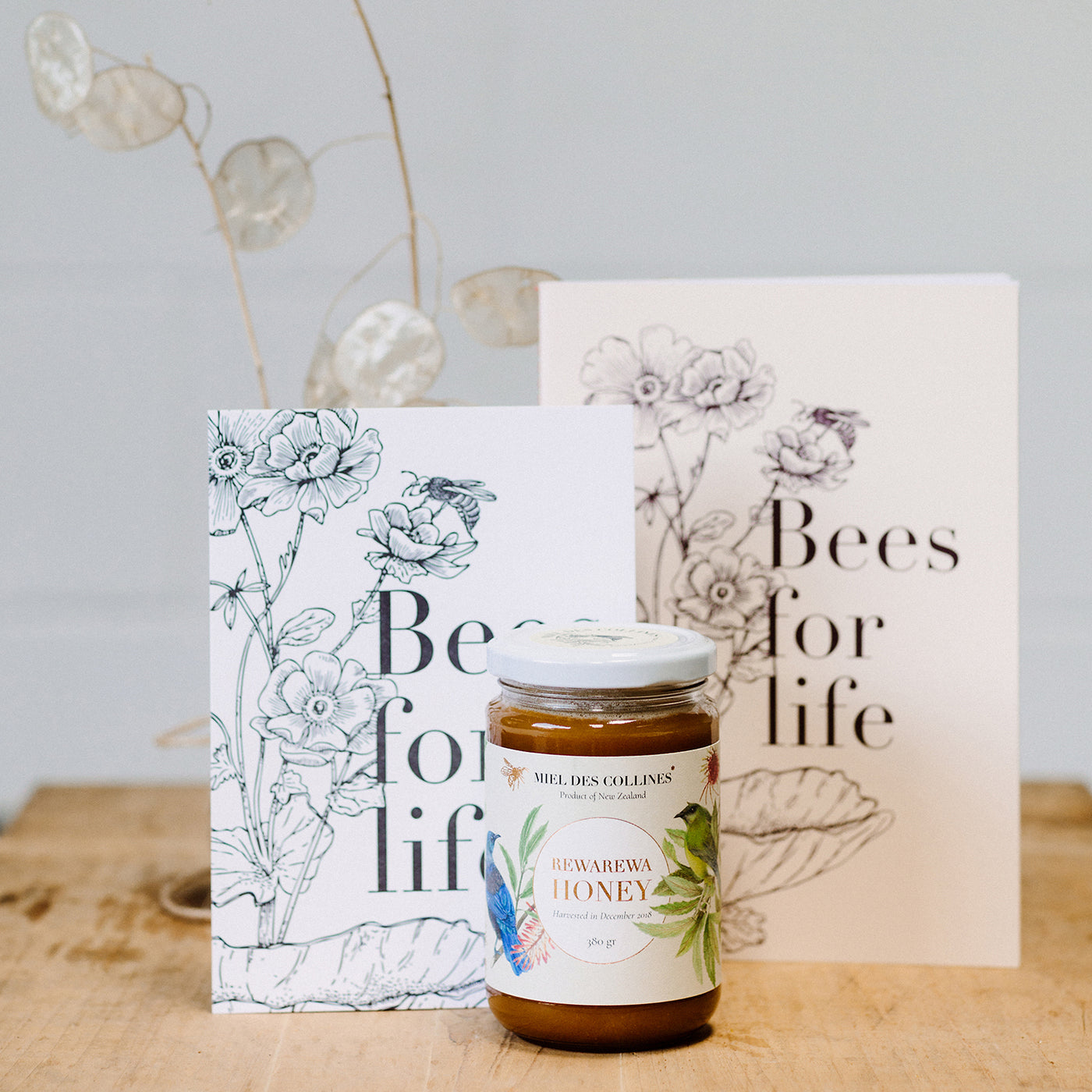 Miel des Collines - Bees for life Combo
