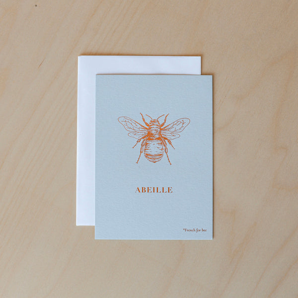 Abeille Card