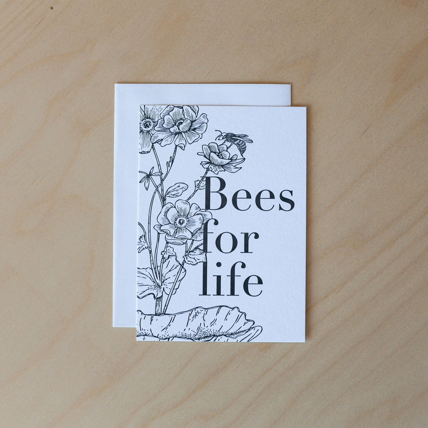 Bees for life Card