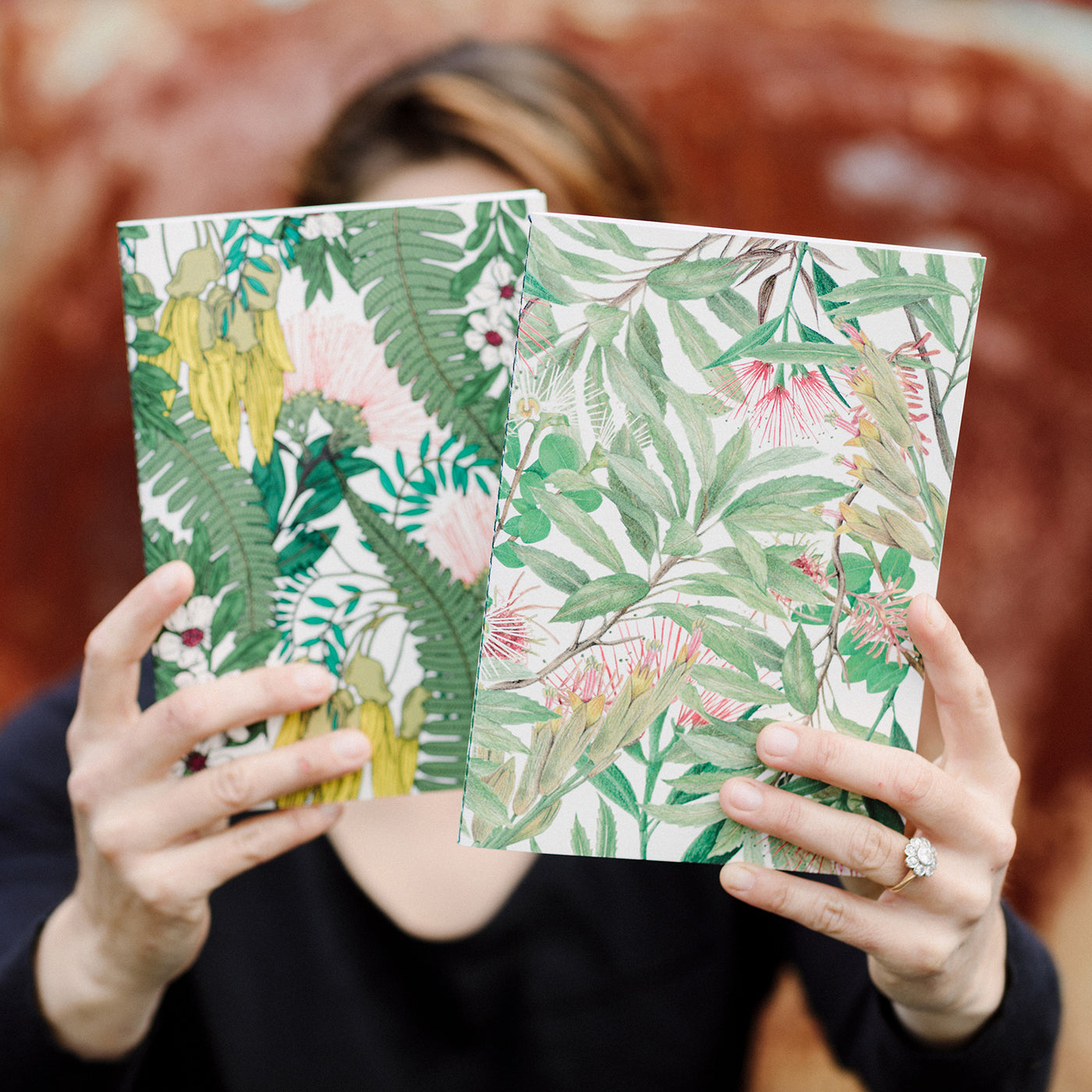 Stationery by Miel des Collines with Rewarewa foliage