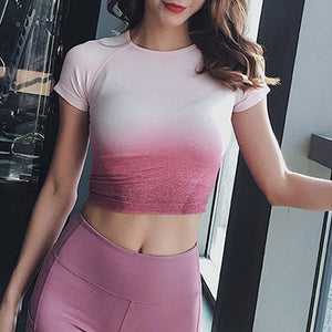 FITX SHORT SLEEVE CROP TOP