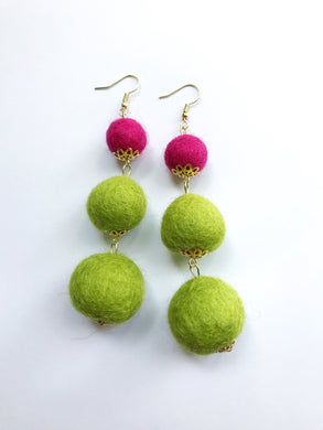 Chartreuse and Magenta