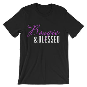 Bougie & Blessed ( Color/White Print)