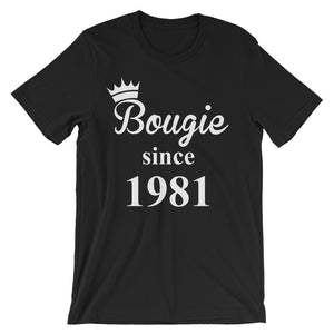Bougie Since 1981 (White Print)