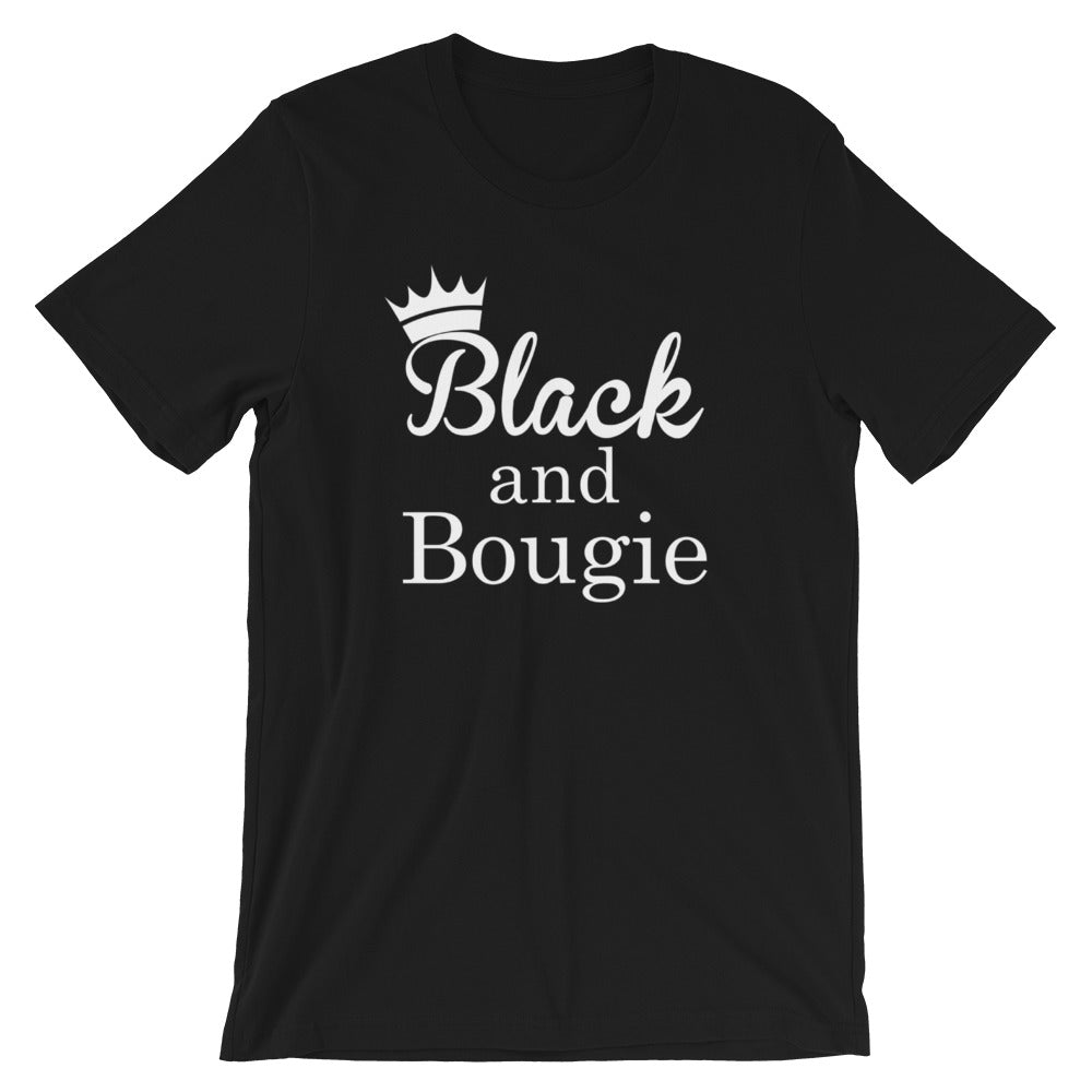 Black & Bougie Queen Short-Sleeve Unisex T-Shirt