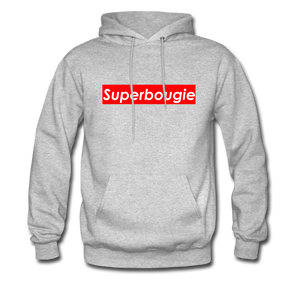 Superbougie Hoodie - heather gray