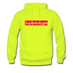 Superbougie Hoodie - safety green